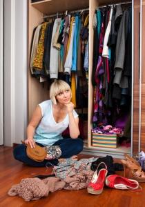 Woman at Closet iStock_000016533294Small