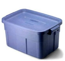 CLOTHES STORAGE RUBBER TUB
